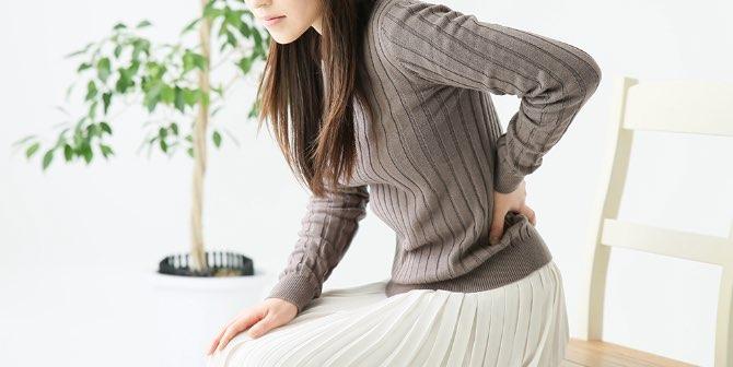 慢性的な肩こり・腰痛イメージ